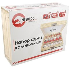 Набор фрез Intertool HT-0077