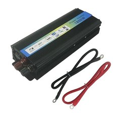 Инвертор POWER INVERTER 8101U1 12V-220V, 1200W (TUV)