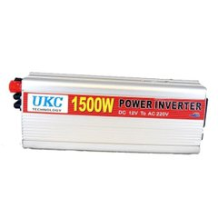 Инвертор POWER INVERTER 8102U1 12V-220V, 1500W (TUV)